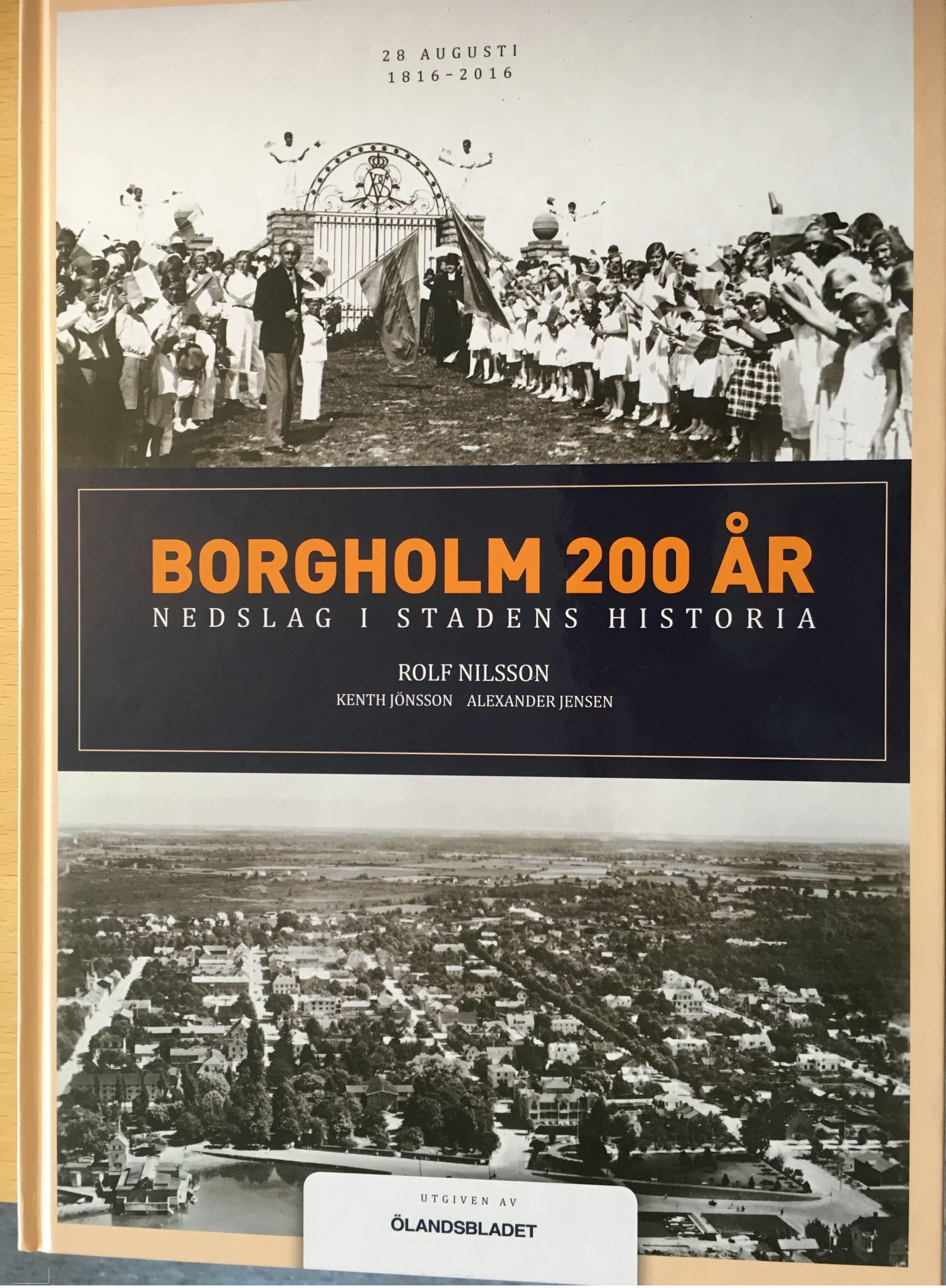 Författarbesök Borgholm 200 år  - nedslag i stadens historia