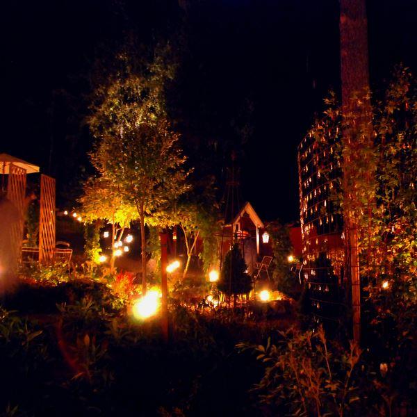 Ljuskvällar Bäsna Trädgård