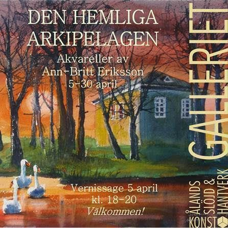"Exhibition: ""The secret archipelago"" at Galleriet"