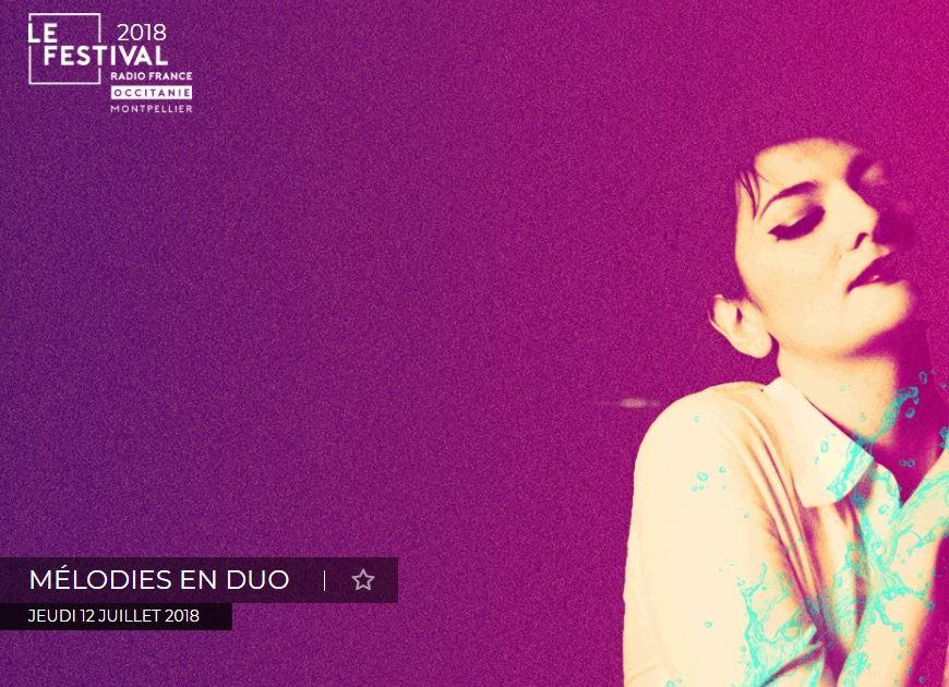 Festival Radio France - Mélodies en duo