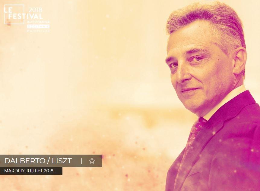 Festival Radio France - récital Dalberto / Liszt