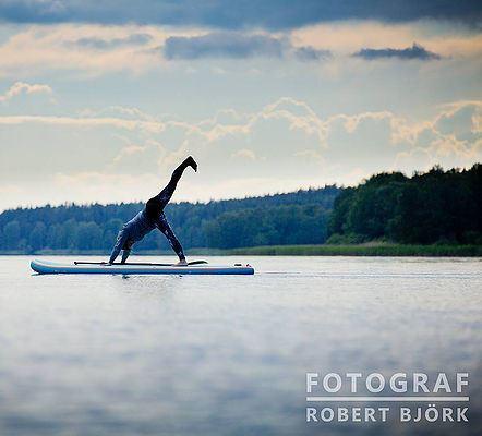 SUP Yoga i Norrtälje