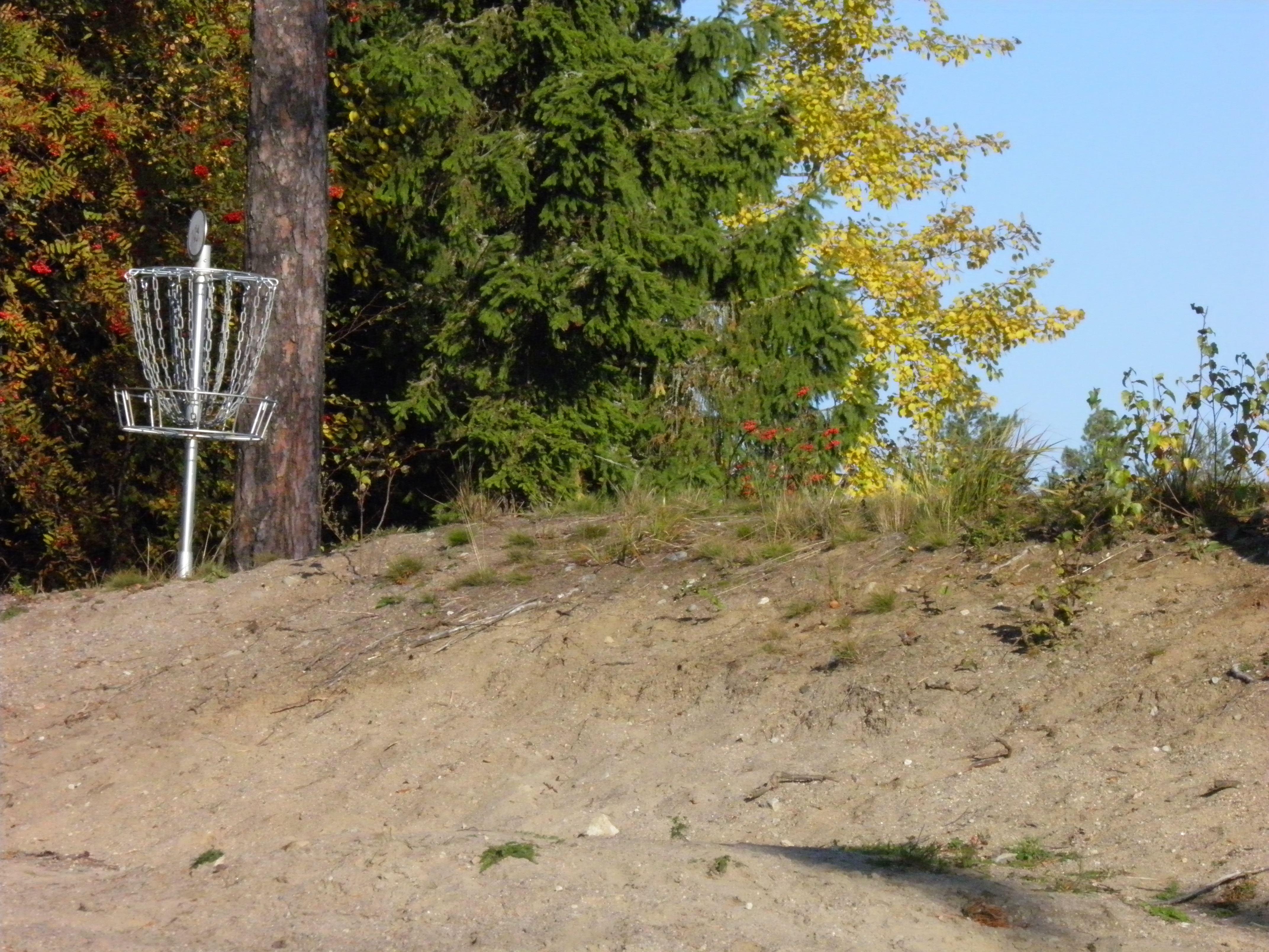 Asikkalan urheilukentän frisbeegolfrata