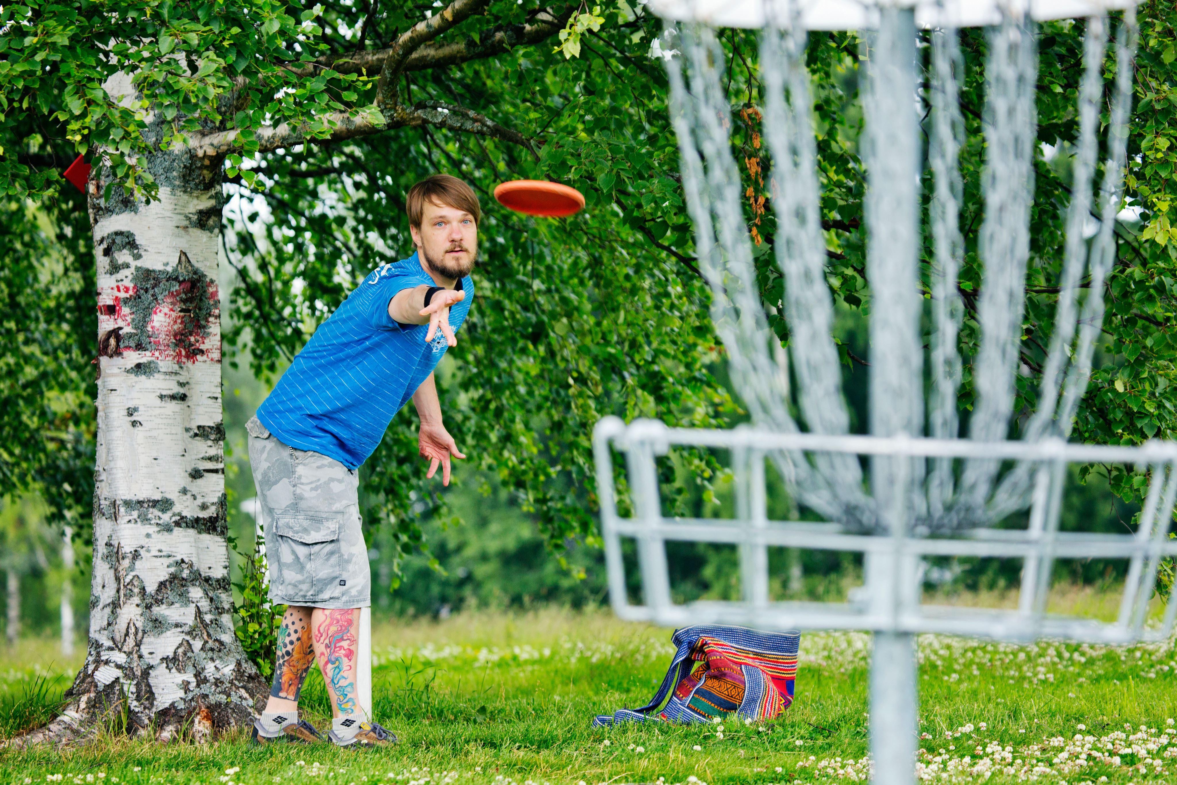 Frisbeegolfrata | Liikuntakeskus Pajulahti