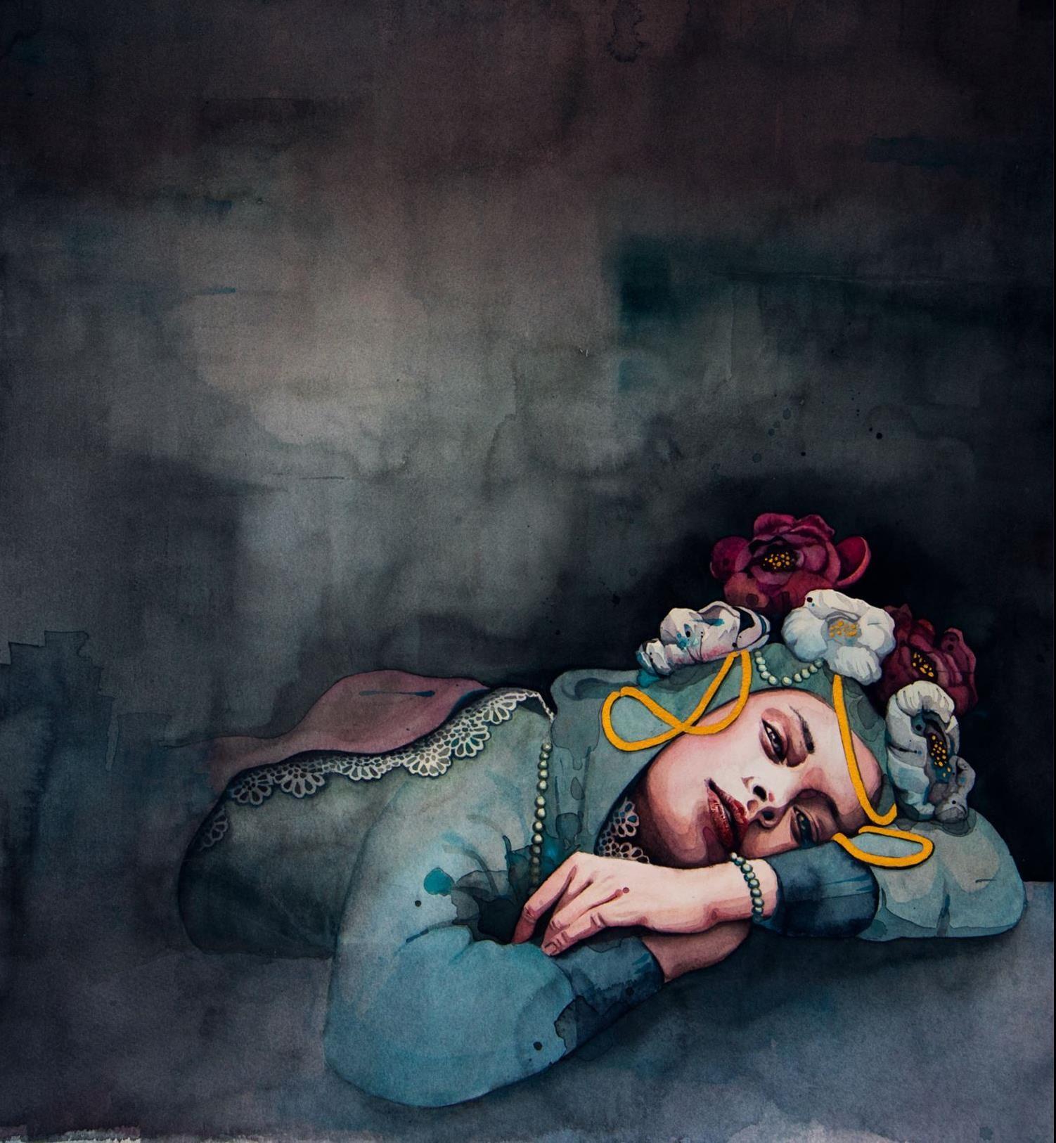 Akvareller av Linnea Swärd
