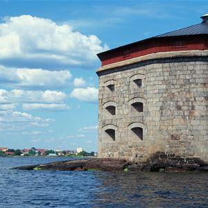 Guidad tur - Befästningar till havs