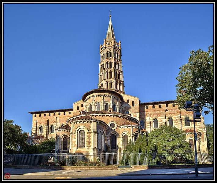 La basilique de Saturnin à Saint Saint Sernin