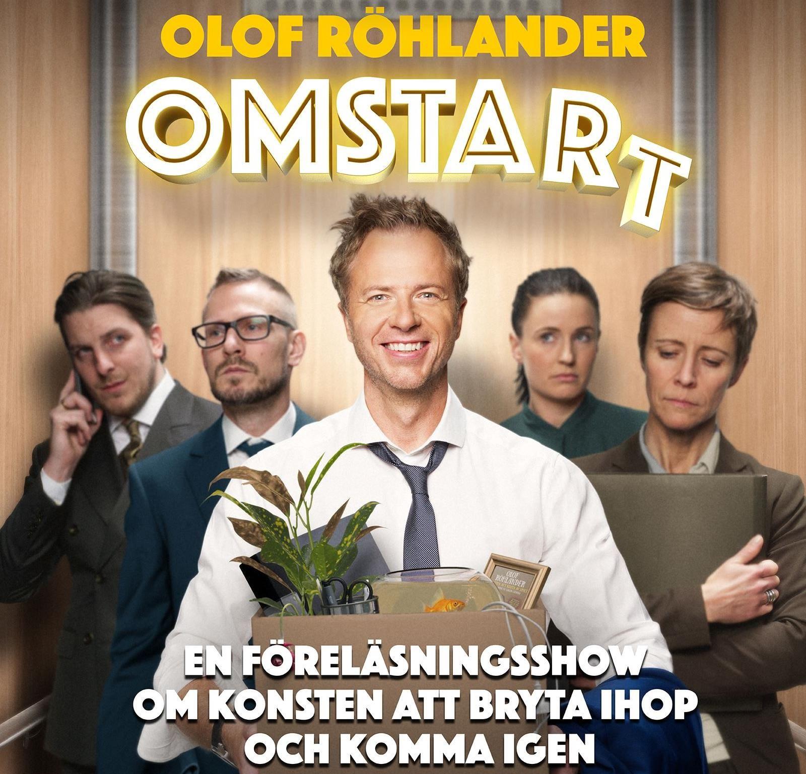 Föredrag:Olof Röhlander - Omstart