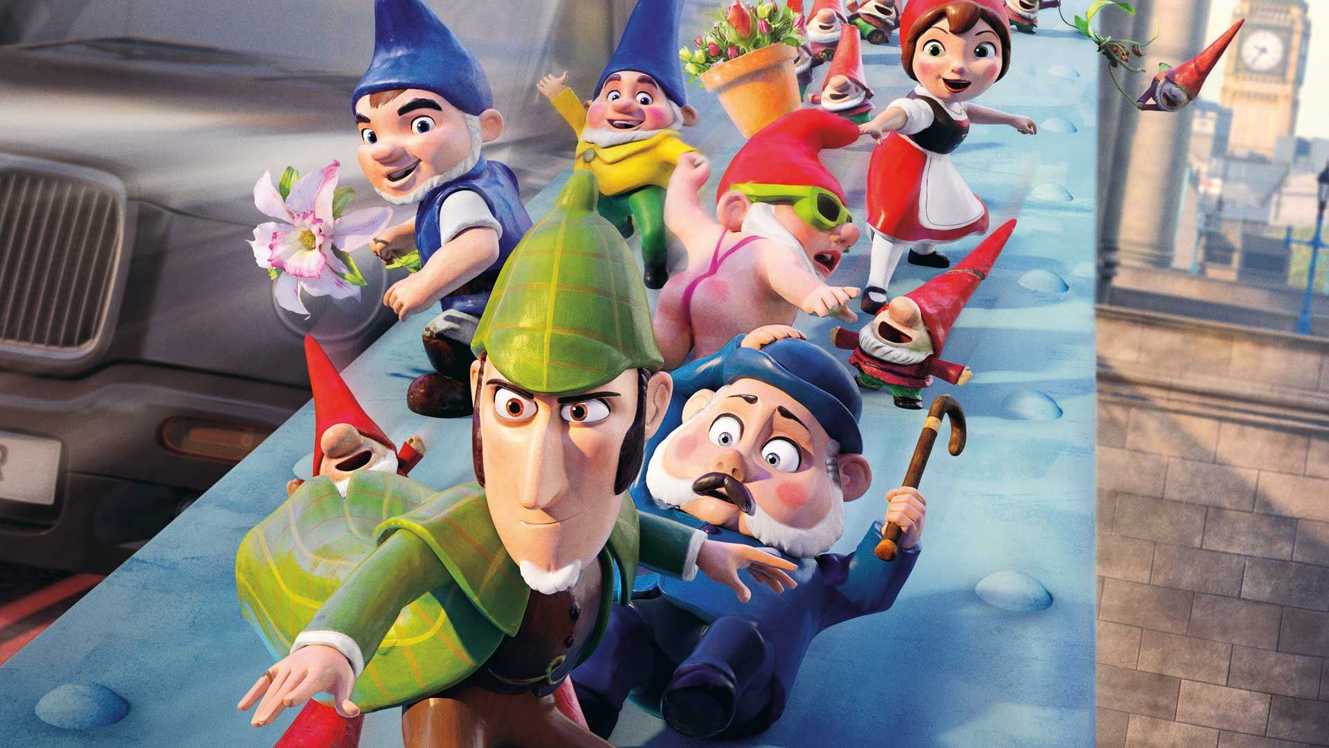 Bio, Bergsjö, Mästerdetektiven Sherlock Gnomes,  © Bio, Bergsjö, Mästerdetektiven Sherlock Gnomes, Bio, Bergsjö, Mästerdetektiven Sherlock Gnomes