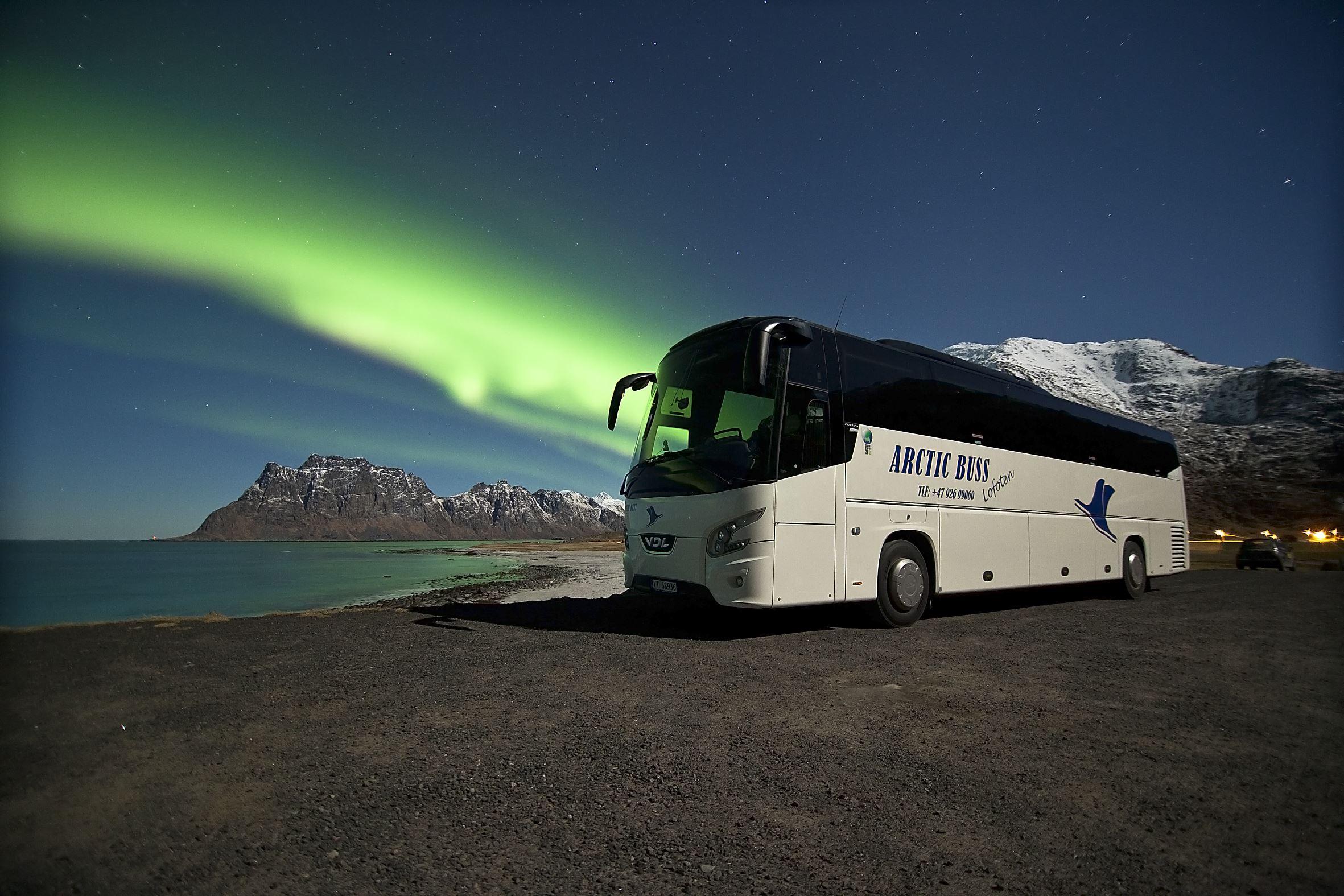 Kjetil Kuntze,  © Arctic Buss Lofoten, Arctic Buss Lofoten