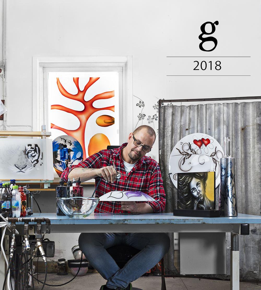 GLASKONST 2018 PÅ NYBRO GLASBRUK