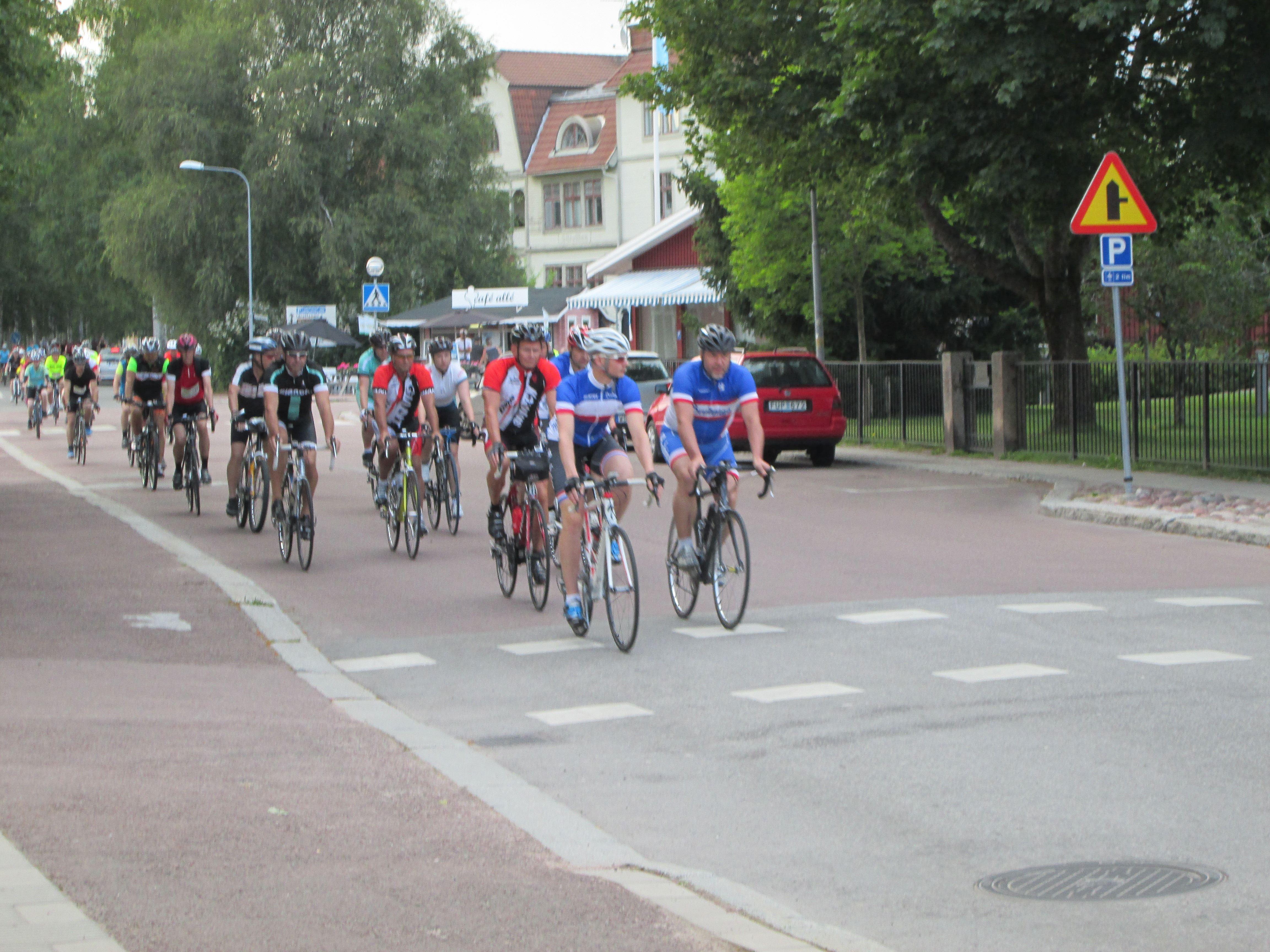 Leksandsrundan130 - 13 mil på cykel