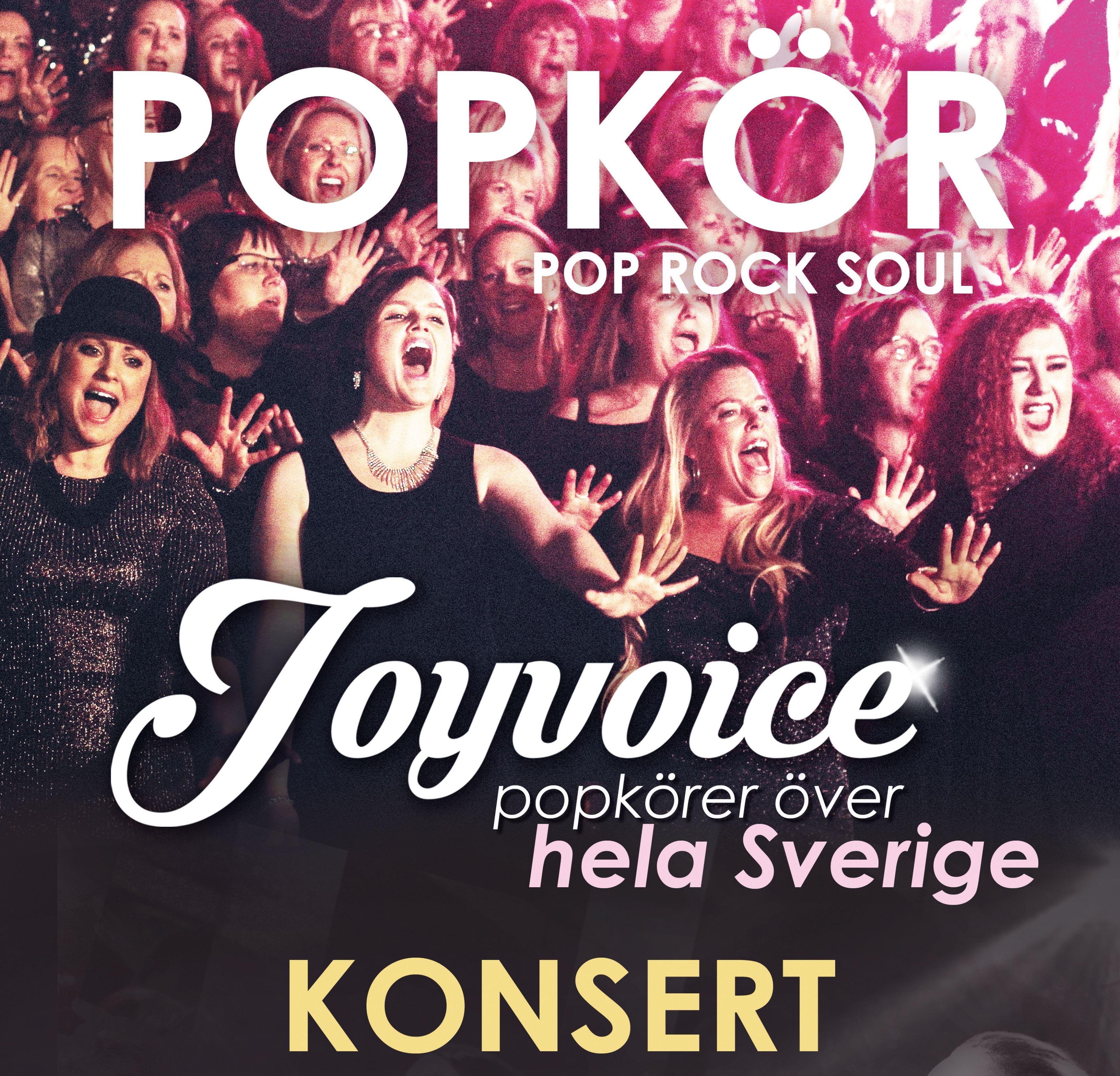 Musik: Joyvocie popkör konsert