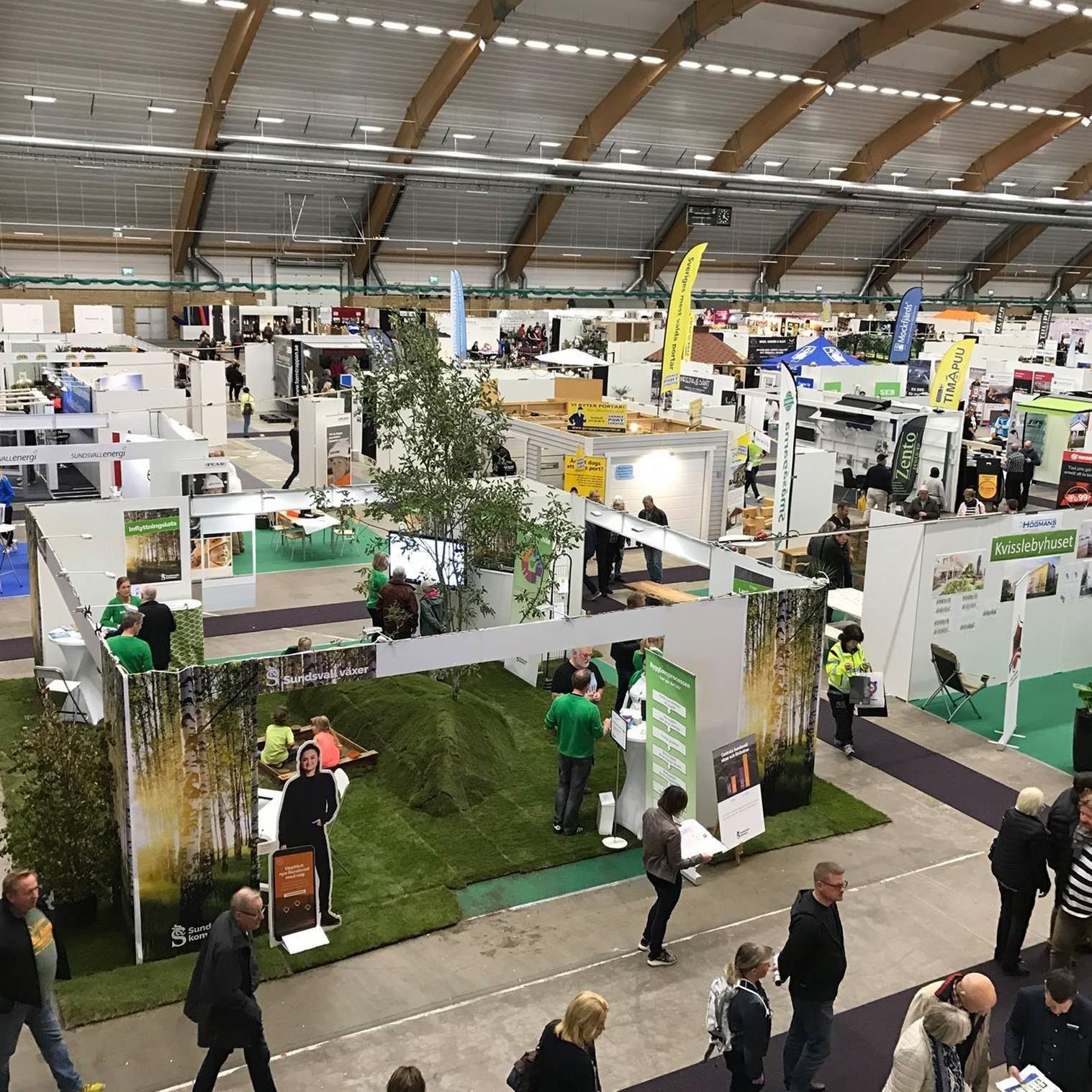 Sundsvallsregionens Hem & Villamässa 2018