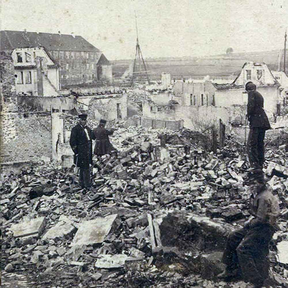 A Town in Ruins - an 1864 guided town walk