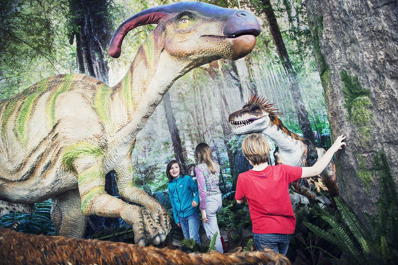 Dinosauriesommar på Tom Tits Experiment