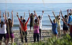 Club Fanø - Styrke og konditionstræning at the beach
