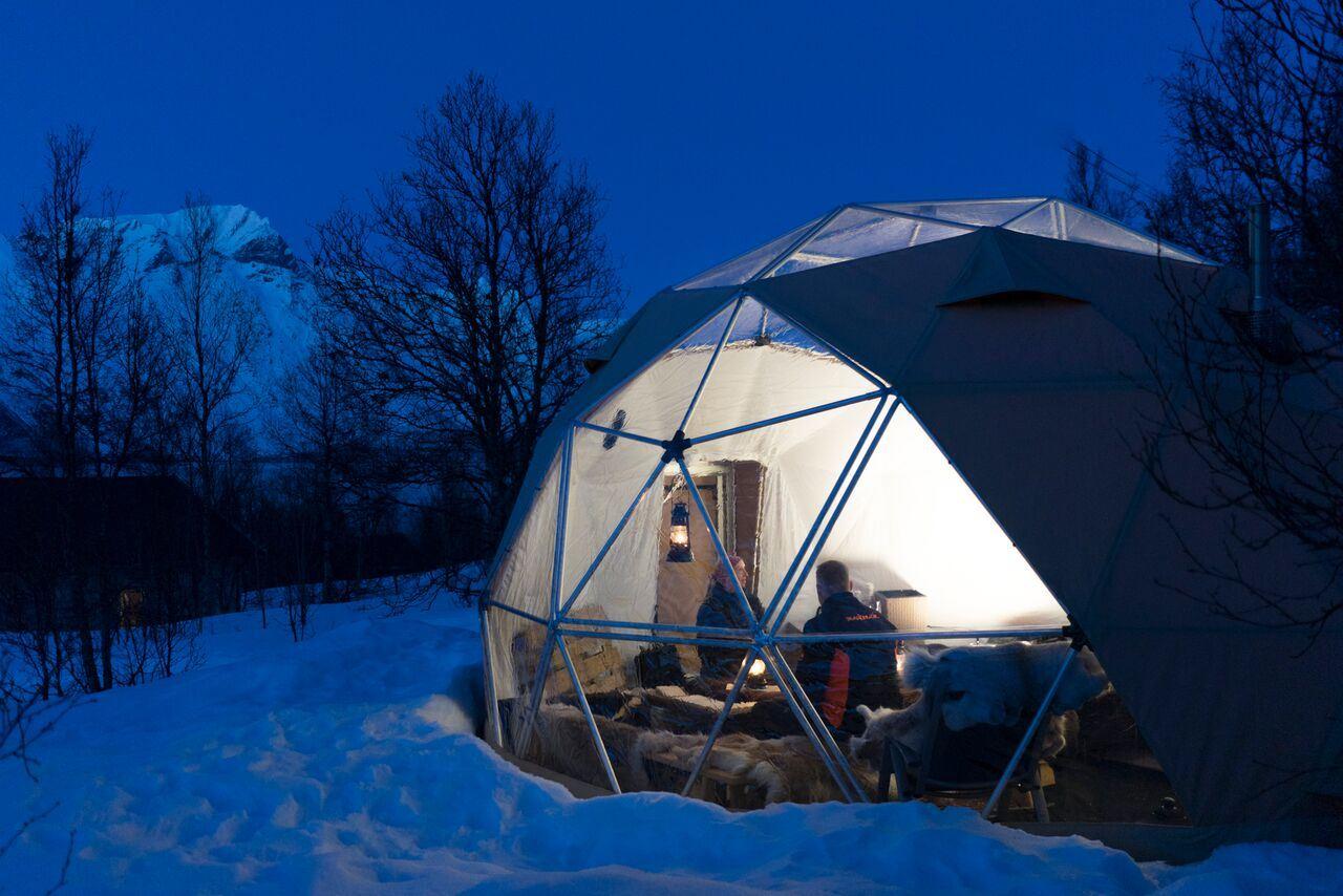Best Bevarte Hemmelighet: Arktisk Dom Overnatting