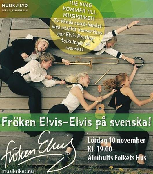 Konsert i Musikriket - Fröken Elvis på svenska!
