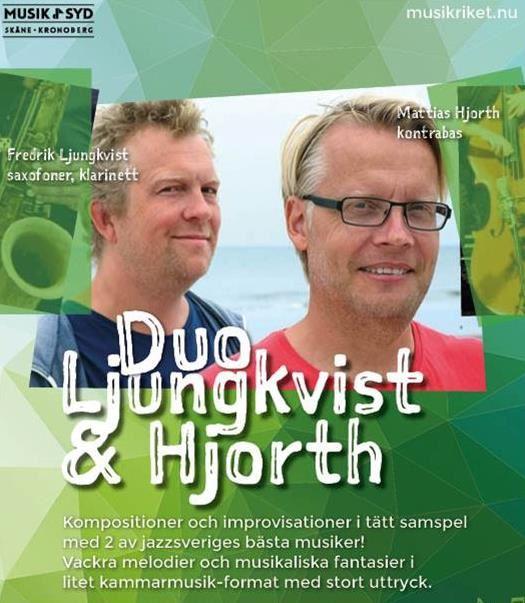 Konsert i Musikriket - Duo Ljungkvist & Hjorth