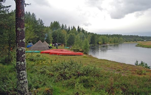 Canoeing and kayaking in Stöten, Sälen