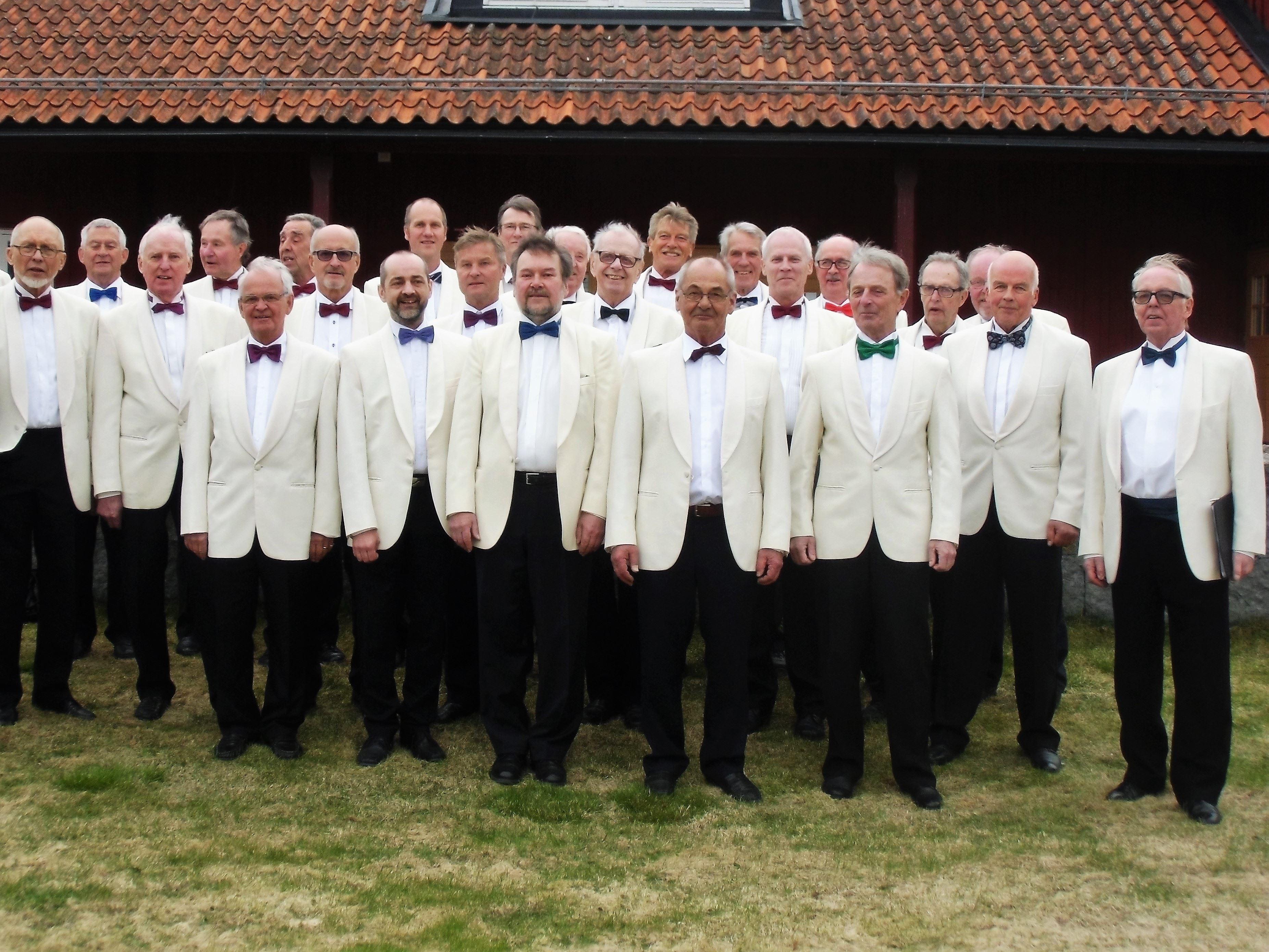 Vårkonsert med Sångarbröderna och Hallens Manskör
