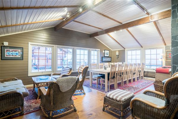 Narvik Mountain Lodge,  © Narvik Mountain Lodge, Livingroom