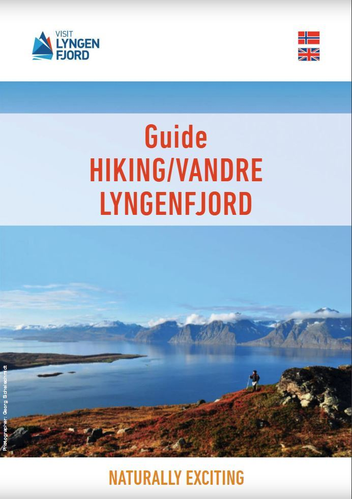 Hikingguide No/Eng - incl. postage Worldwide