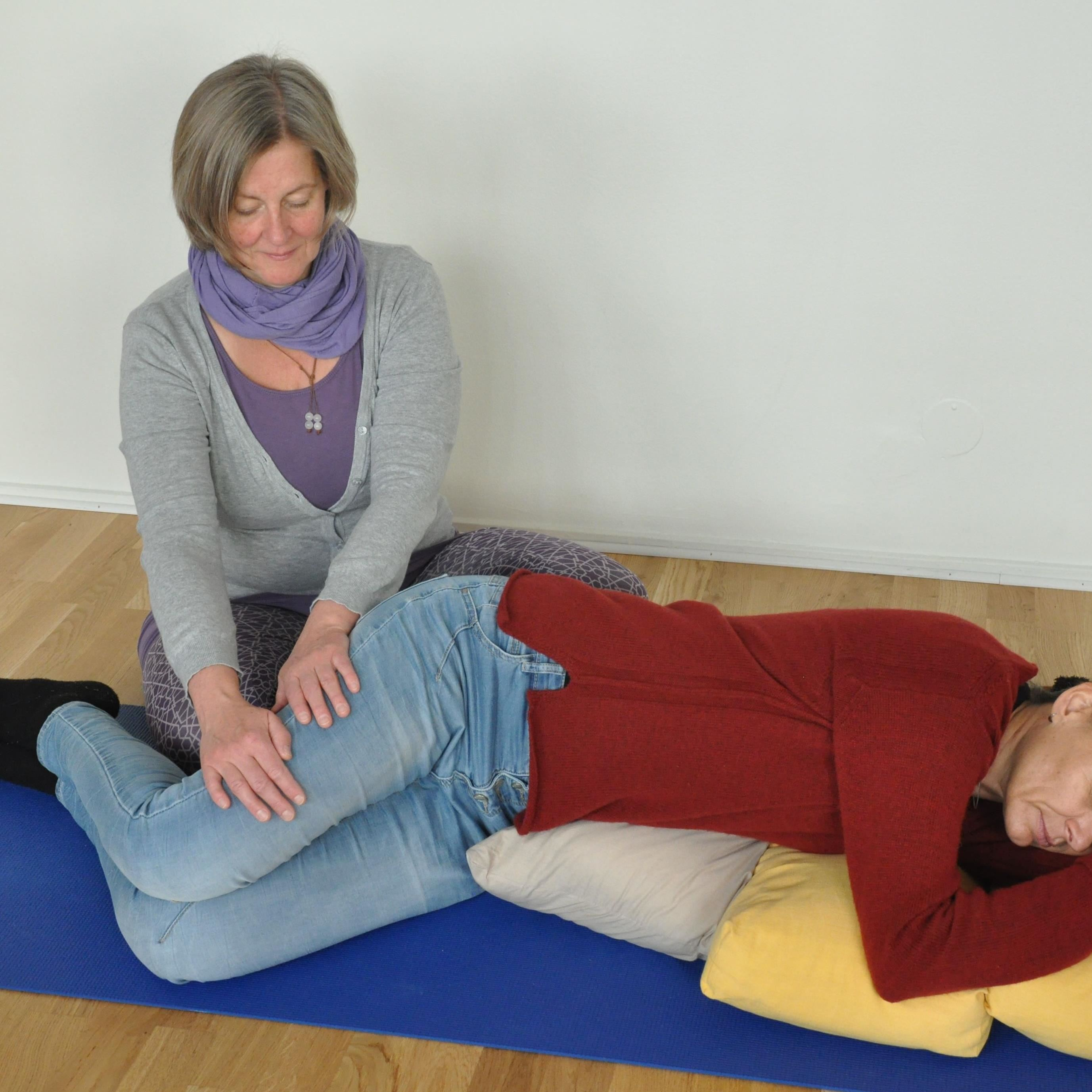 Massage och yoga