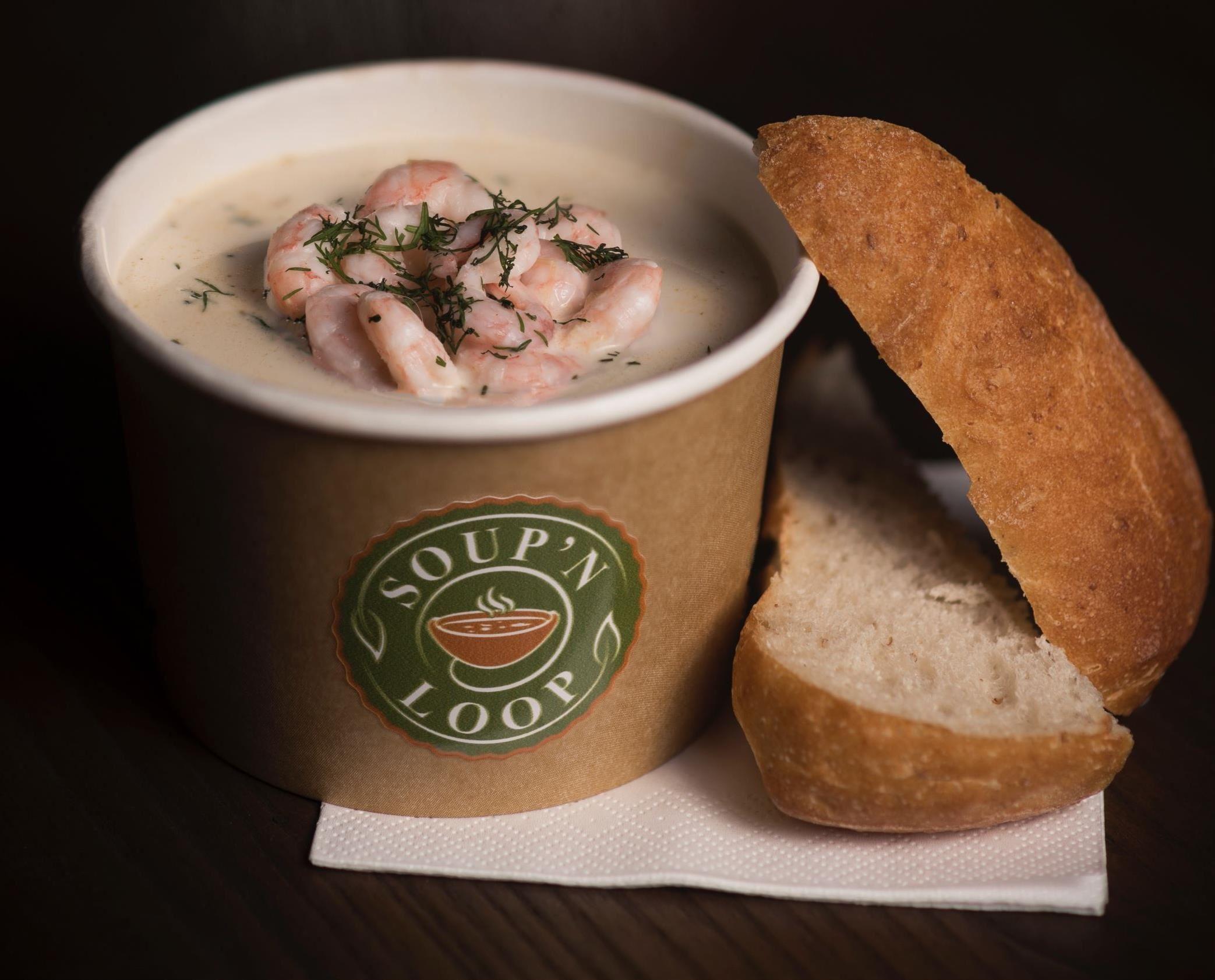 Soppa från Soup'n Loop