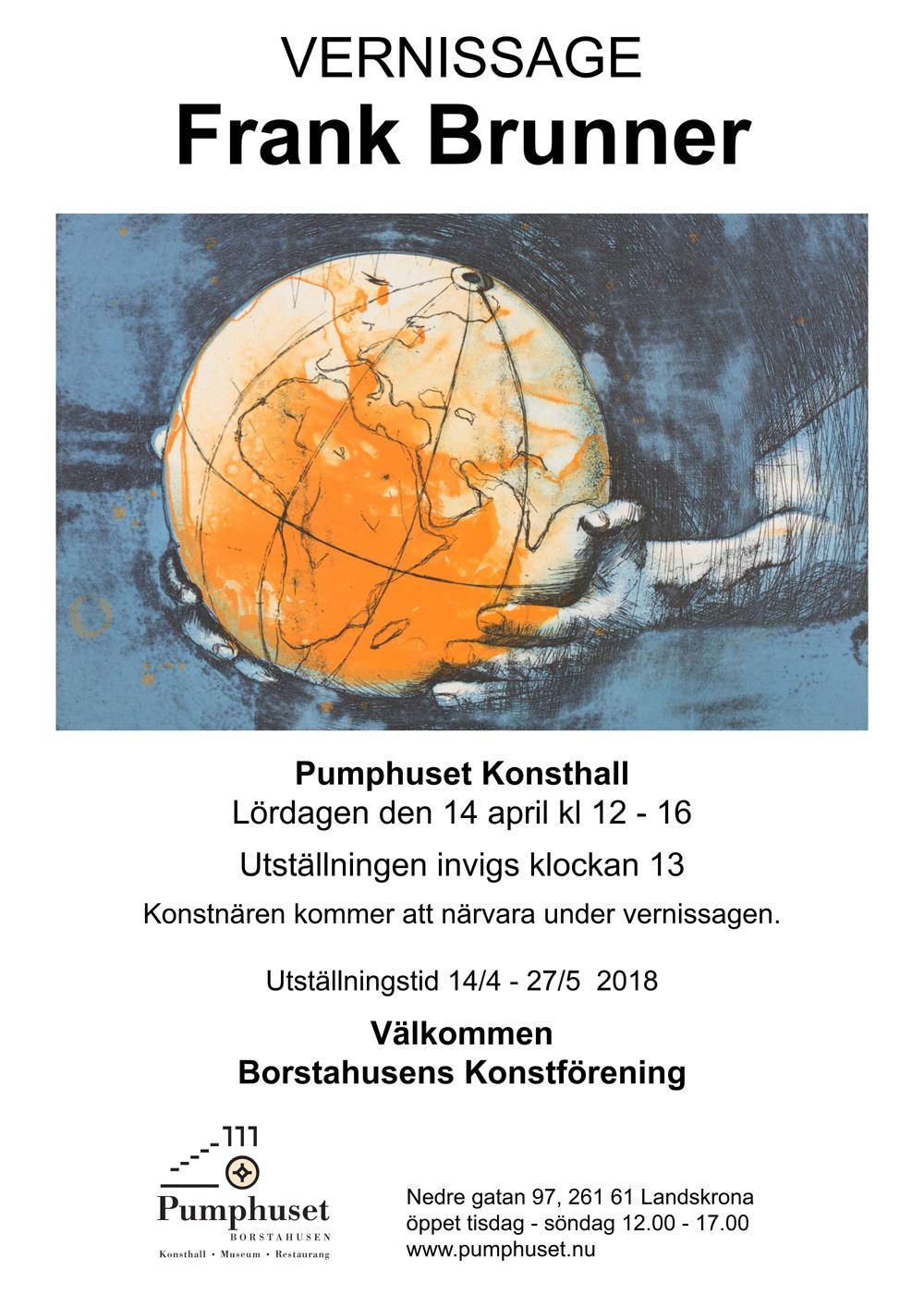 Frank Brunner utställning på Pumphuset