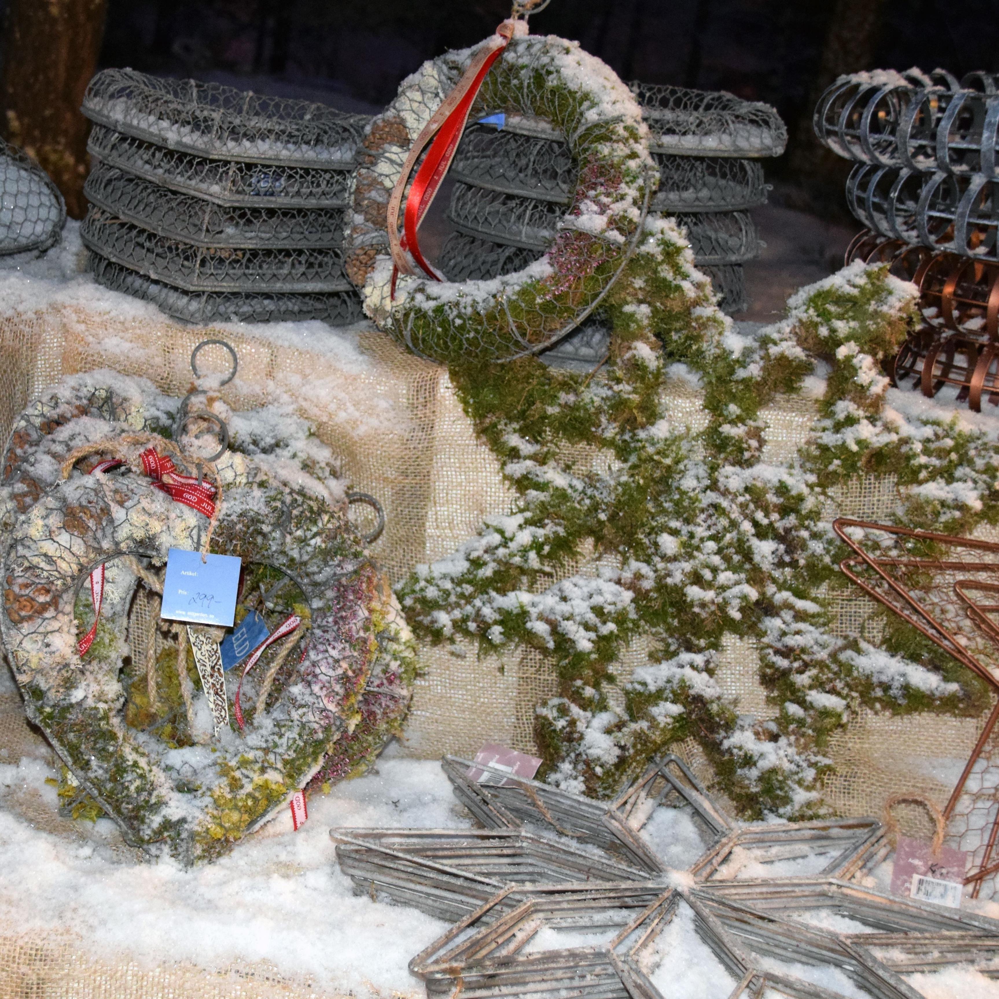 Julmarknad på Norra Berget