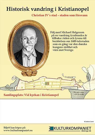 Guidad tur - Historisk vandring i Kristianopel