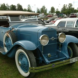 Classic Car Week - Veteranmarknad