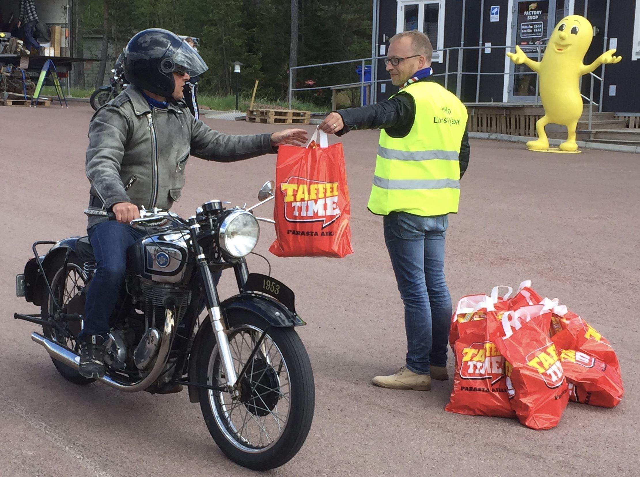 Taffel-Snurren - veteranrally för MC och moped