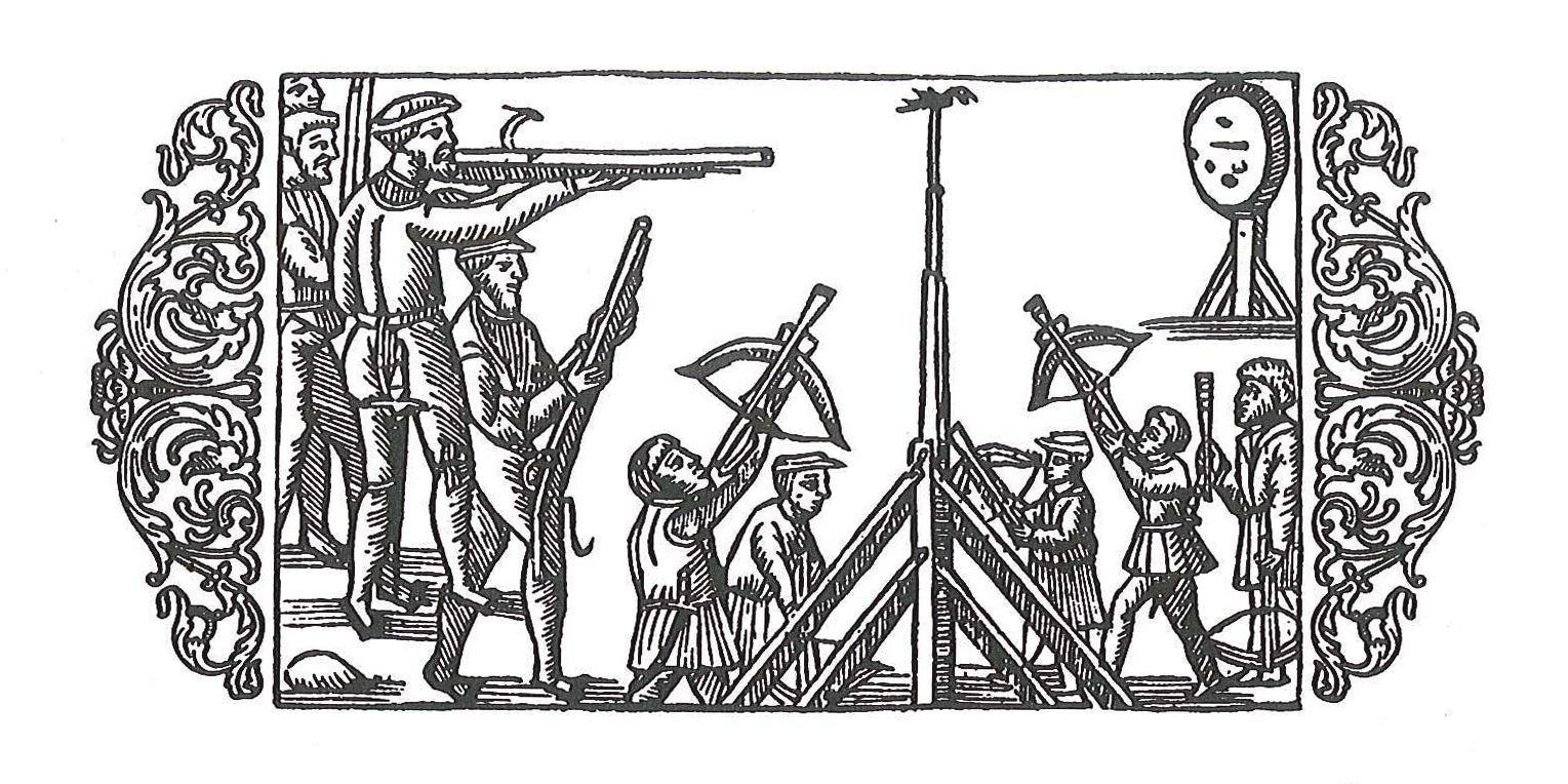 illustration ut Olaus Magnus Om de nordiska folken