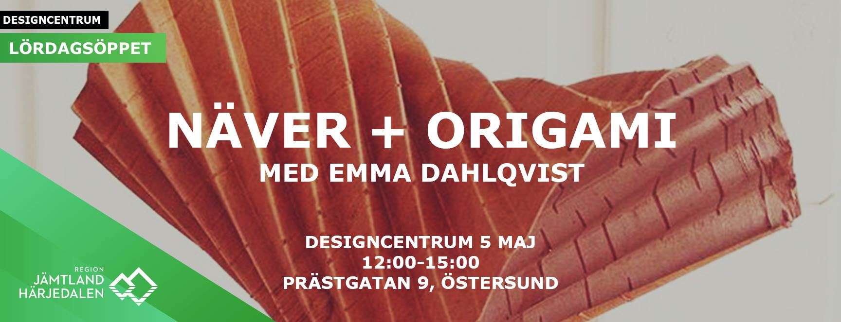 Birch bark + Origami with Emma Dahlqvist