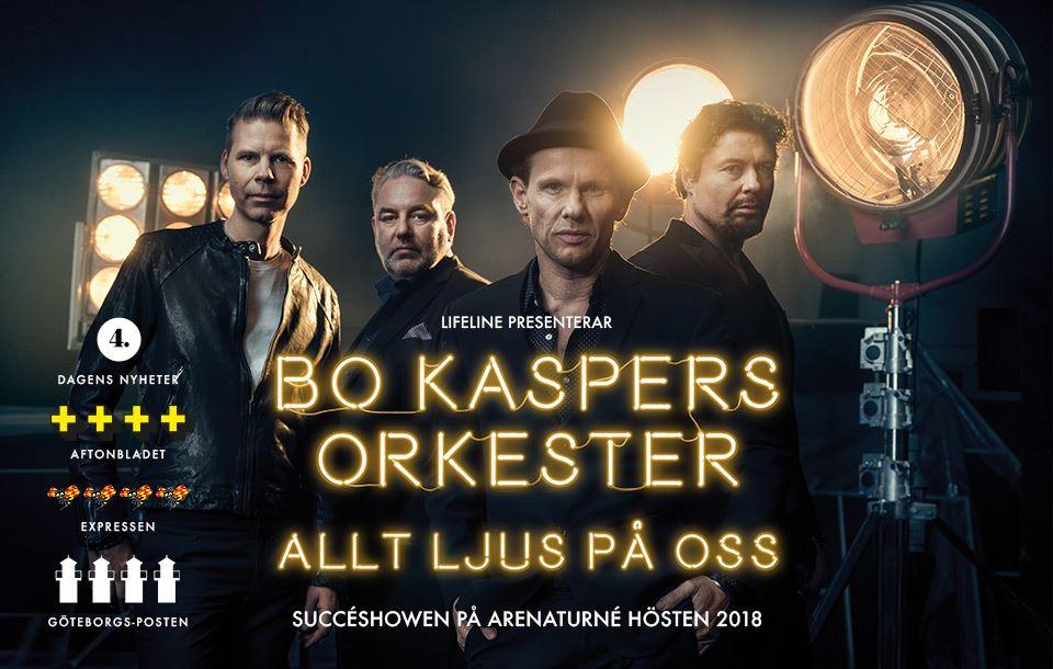 """Bo Kaspers Orkester - """"Allt ljus på oss"""" på arenaturné"""