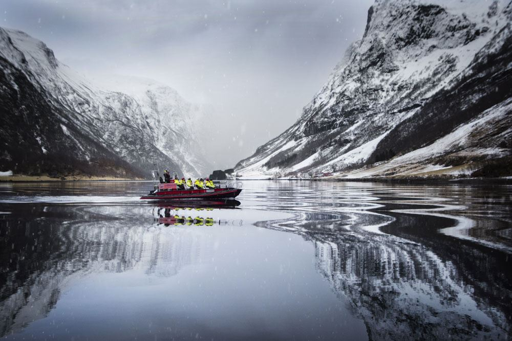 © Thea Hermansen, Winter FjordSafari