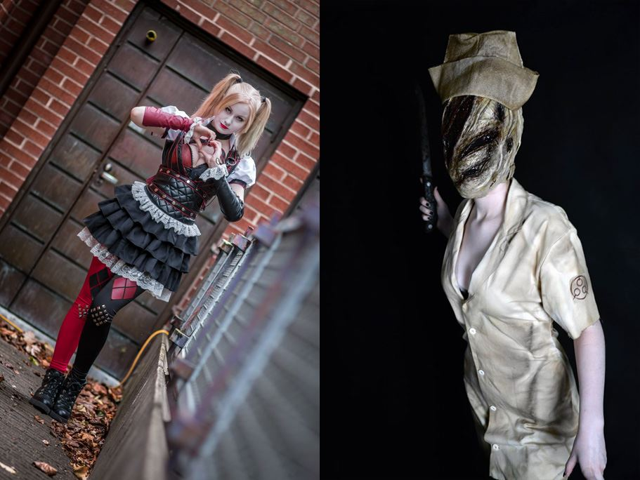 Cosplay på Trelleborgs Museum - Behind the mask