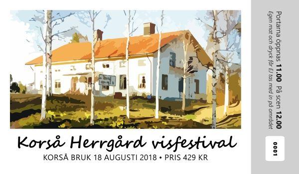 Korså Visfestival 2018