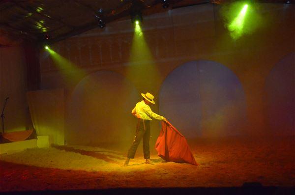 "Dinner-Horses show ""Cabaret des Dunes"""