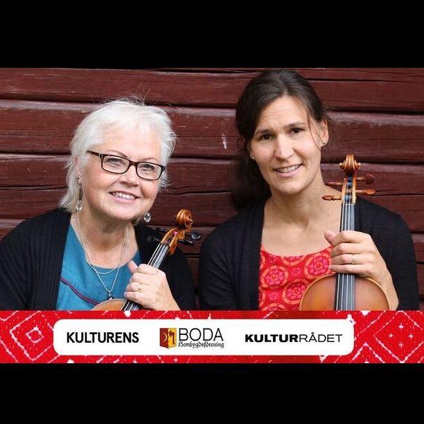 Måndagskvällskonsert - Täpp Jenny Nylander & Stina Back