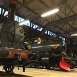 The train hall and steam train trips