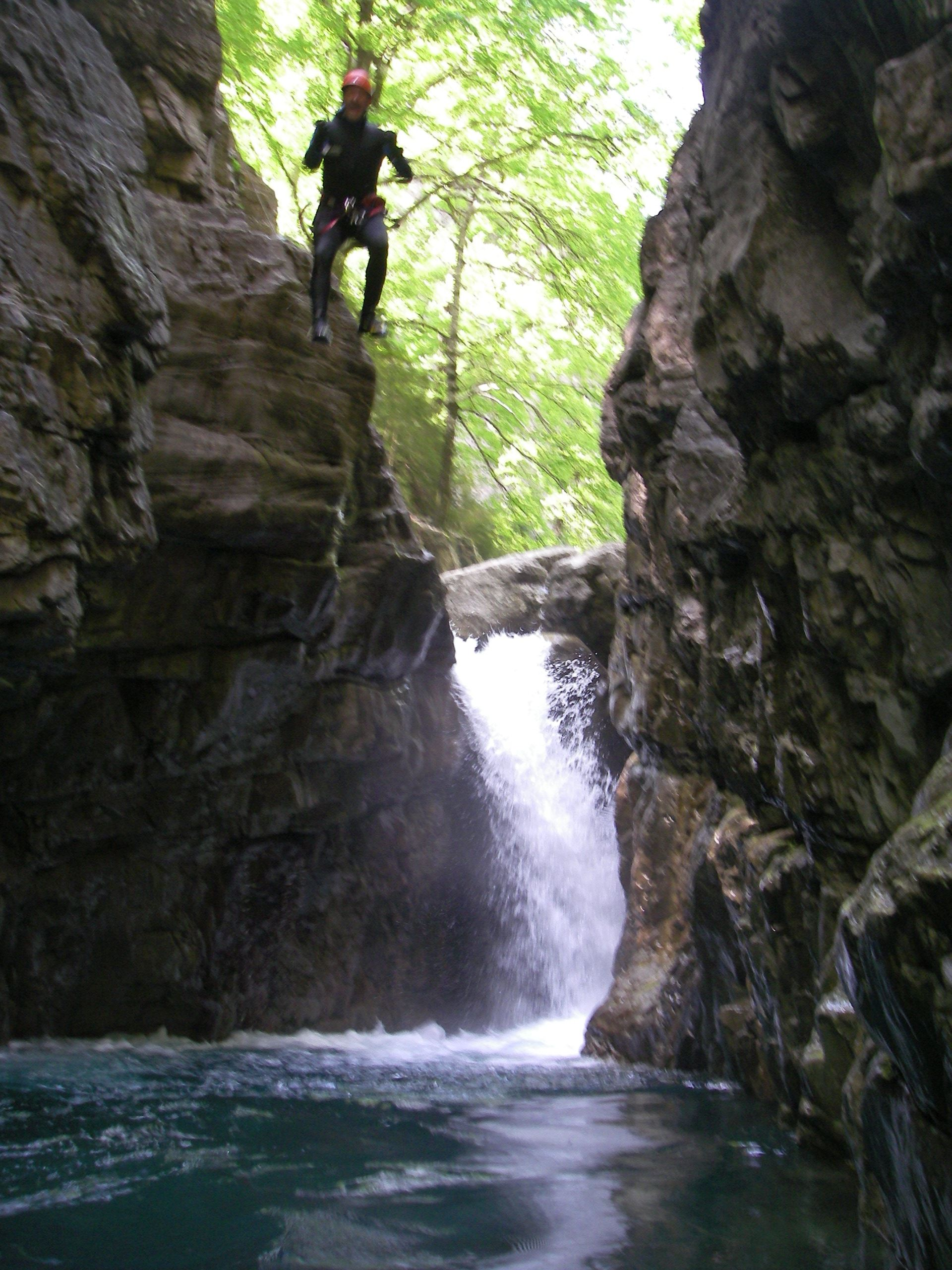 Activité Canyoning Initiation