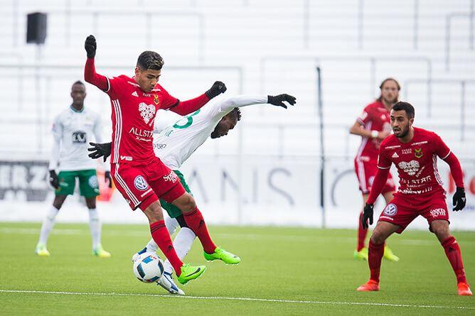 Johan Axelsson,  © Johan Axelsson, Östersunds FK - Dalkurd