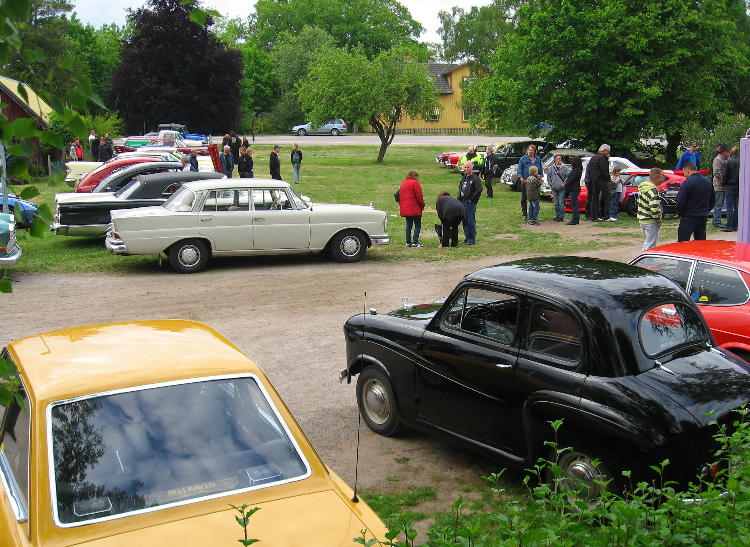 Old Timer meeting, Gullabo