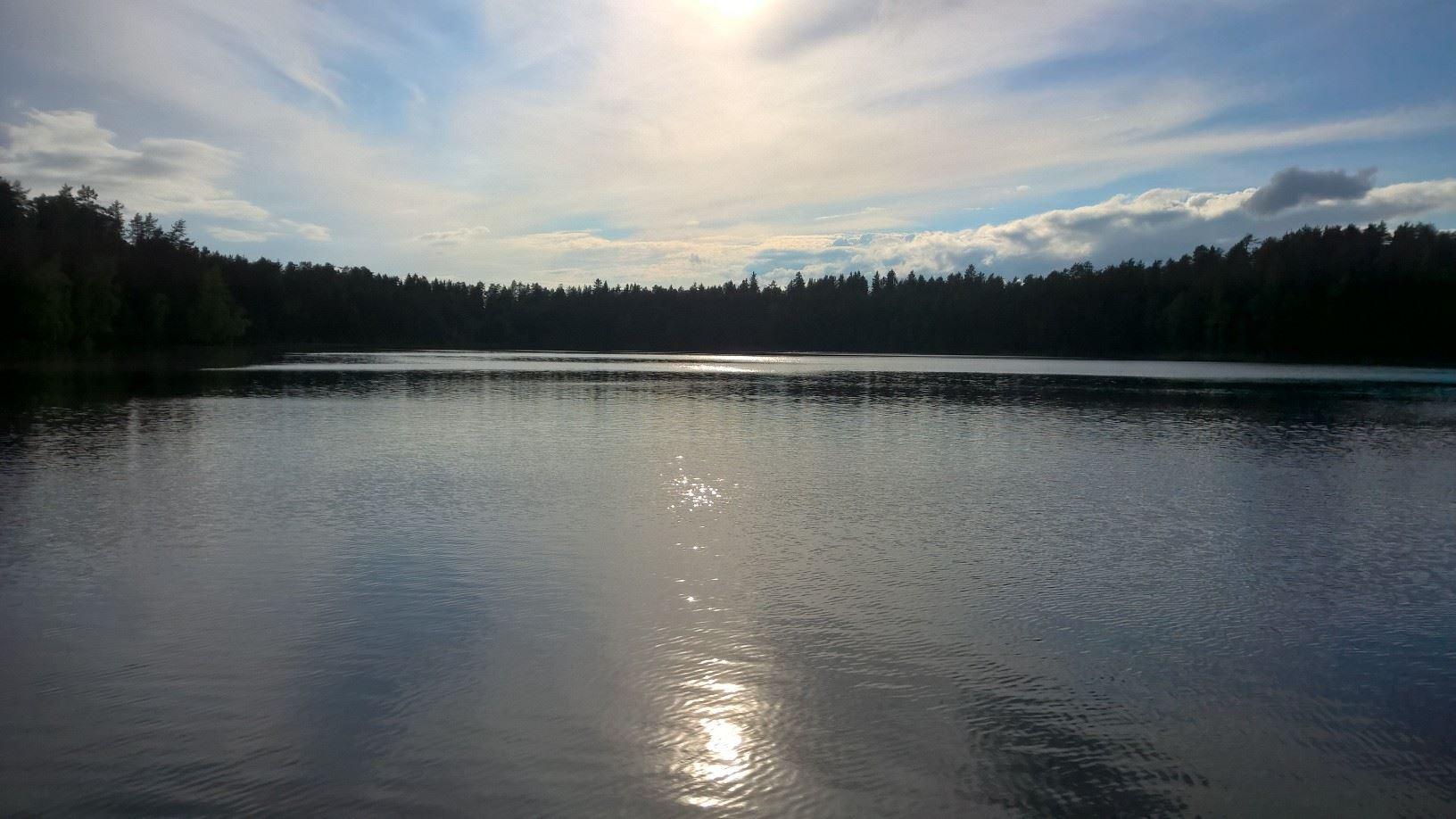 Iso-Tiilijärvi beach
