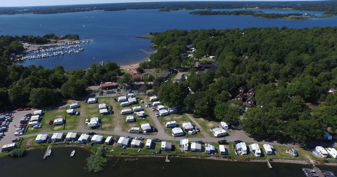 Summer activities at Dragsö camping