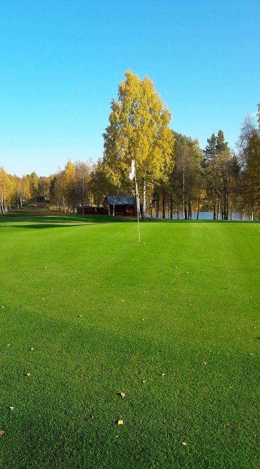 Prova på golf med instruktör